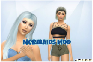 The Sims 4: Mermaids Mod