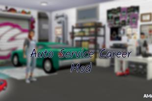The Sims 4: Auto Service Career Mod