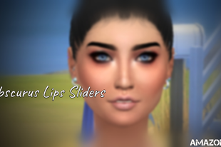 The Sims 4: Obscurus Lips Sliders