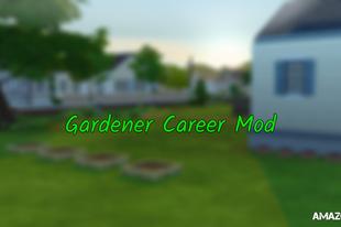 The Sims 4: Gardener Career Mod