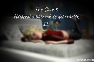 The Sims 3: Hálószoba bútorok és dekorációk II.