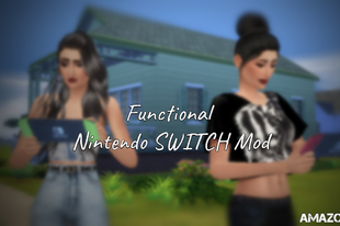 The Sims 4: Functional Nintendo SWITCH Mod