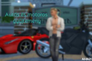 The Sims 4: Autós és motoros gyűjtemény