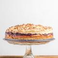 Hozzáadott cukor mentes habos szilvás torta
