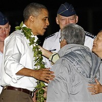 Istentiszteleten vett részt a Hawaiin vakációzó Obama család