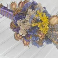 Szárított virágokból...