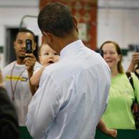 Obama a piacon....