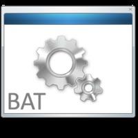 EXE kompatibilitás BAT fájlokba?