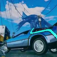 GTA V - Vissza a jövőbe: Delorean