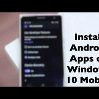 Android APPok, Nokia Lumián(Windows Phone 10)