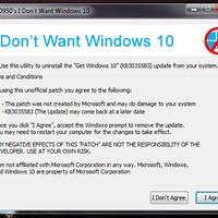 Windows 10-re frissítés,-felugró ablak eltüntetése?