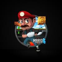 Mari0 (Mario Famicom + Portal)