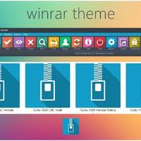 Winrar - Metro (csempe) skin/téma! :)