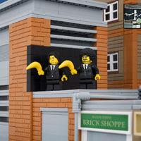 Híres Banksy művek LEGO-ból kirakva