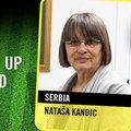 Nataša Kandič - Az Emberi Jogi Védelmezők csapatának tagja