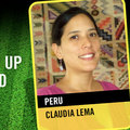 Claudia Lema - Az Emberi Jogi Védelmezők csapatának tagja (PERU)