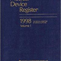 ??FREE?? Med Device Register Domestic 2 Vols (Medical Device Register (United States)). grandes glass utilizas semana material Seventh