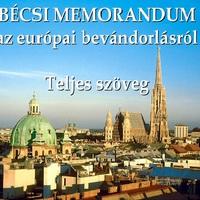 BÉCSI MEMORANDUM - teljes szöveg