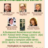 Országértékelő? Megint? Ráadásul keresztény? Magyarország és Európa?