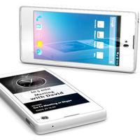 Videón az e-papír hátoldalú mobil