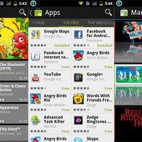 Frissül az Android Market