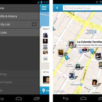 Foursquare-frissítés: újra a térképen a barátaid