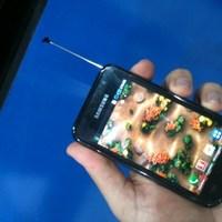 A brazil Galaxy S telefon és tévé is