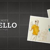 Rossz arcmemóriára: Evernote Hello