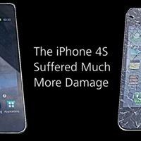 Az üveg törik, a műanyag nem - NAHÁT! - SGS2 vs iPhone 4S törésteszt