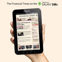 Financial Times app a Galaxy Tabra
