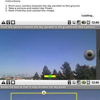 Légszennyezettség mérés Androidon