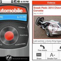 Androidon az Automobile magazin