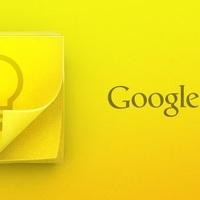 Már meg is érkezett a Google Keep jegyzetelő