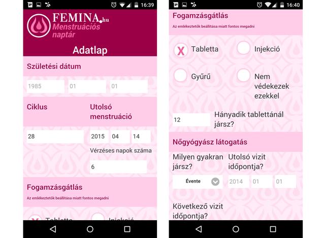 android naptár magyar Egy magyar naptár alkalmazás   nőknek!   Android android naptár magyar