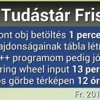 Prog.hu FRISS widget on