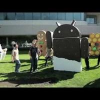Ice Cream Sandwich és Galaxy Nexus bejelentés