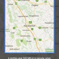 Google Maps Magyarországon is offline!