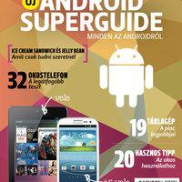 Megjelent az Android Superguide 2012!
