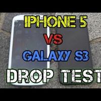 Galaxy SIII Vs. iPhone5 drop test