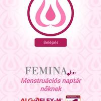 Femina menstruációs naptár, hogy tudd, hogy épp hol tart a tested