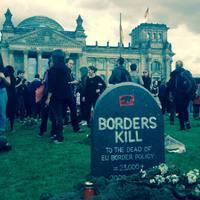 Köztemető, ahogy a német civilkurázsi értelmezi