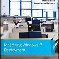Mastering Windows 7 Deployment Mobi Download Book