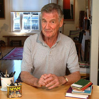 Michael Palin has been knighted