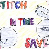 A stitch in time saves nine / Amit ma megtehetsz, ne halaszd holnapra