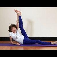 Tao Porchon Lynch, a világ legidősebb - 96 éves - jóga oktatója