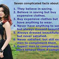 7 complicated facts about women