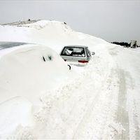 BBC videó a március 15-i hóhelyzetről