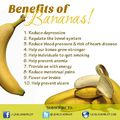 Benefits of Bananas / A banán jótékony hatásai