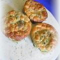 Brokkoli pöfeteg fokhagymamártásban
