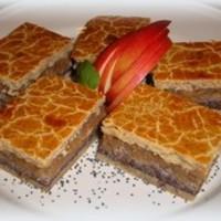 Almás - mákos pite